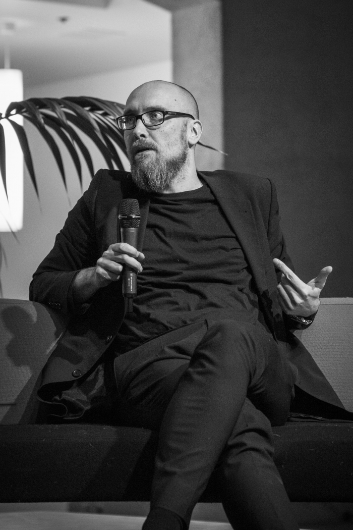 Portrait of Jussi Parikka.