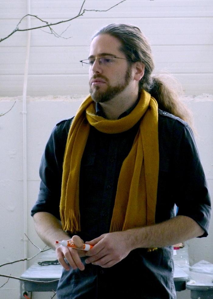 Portrait of Max Haiven